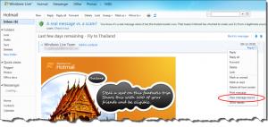 Hotmail Headers