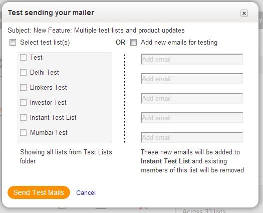 Test Sending