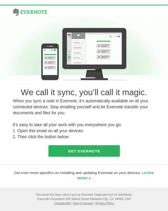 Evernote Sync
