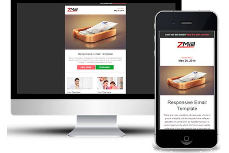 Example of Responsive Email